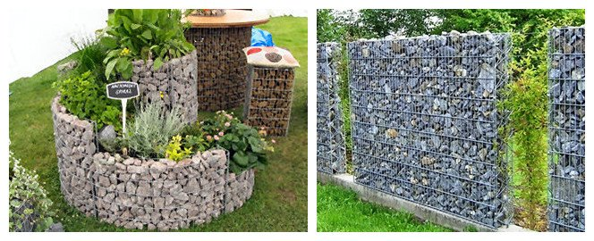 Gabion Design Decoration
