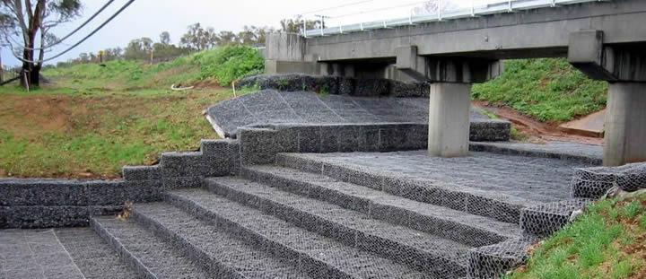 Bridge Protection System Deze Gabion