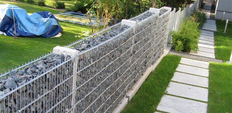 Gabion Sound Barrier Fencing To Reduce Noise Deze